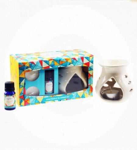 Honeysuckle Aroma Burner Set
