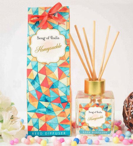Honeysuckle Ambience Reed Diffuser Set