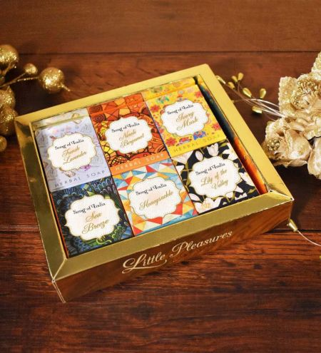 Little Pleasures Handmade Glycerin Soap Gift Box