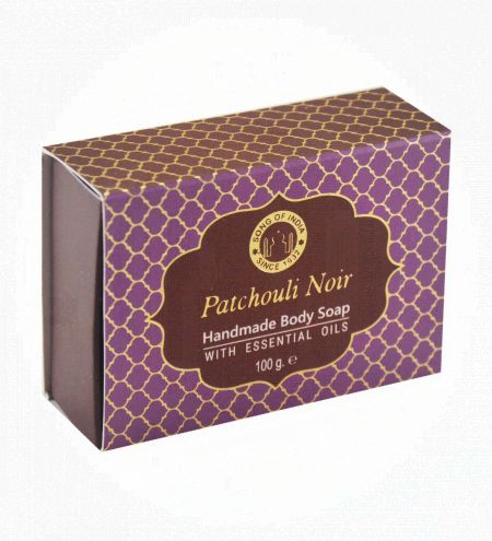 Patchouli Noir Handmade Glycerin Soap