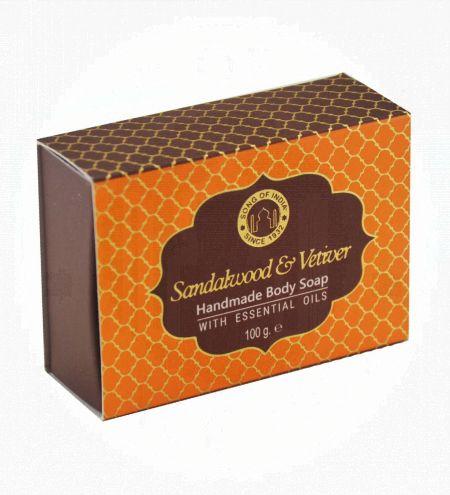 Sandalwood & Vetiver Handmade Glycerin Soap