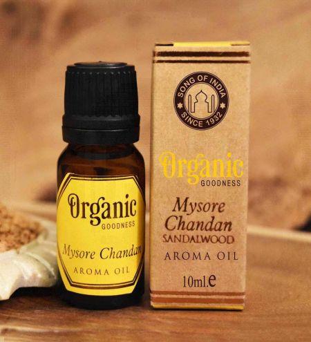 Mysore Chandan - Sandalwood Organic Ambience Aroma Oil
