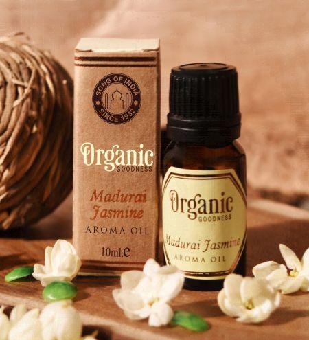 Madurai Jasmine Agarwood Organic Ambience Aroma Oil
