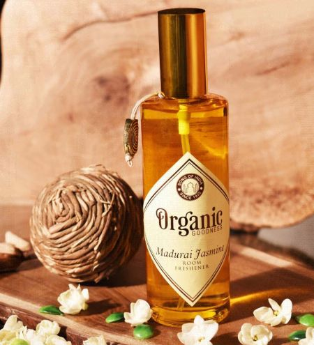 Madurai Jasmine Organic Room Spray with Essential Oil