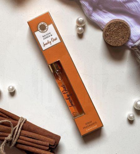Smoky Oud & Balsam Amber  Eau de Parfum 12 ml.