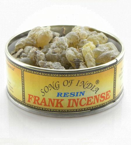 Frankincense Resin in Tin Jar