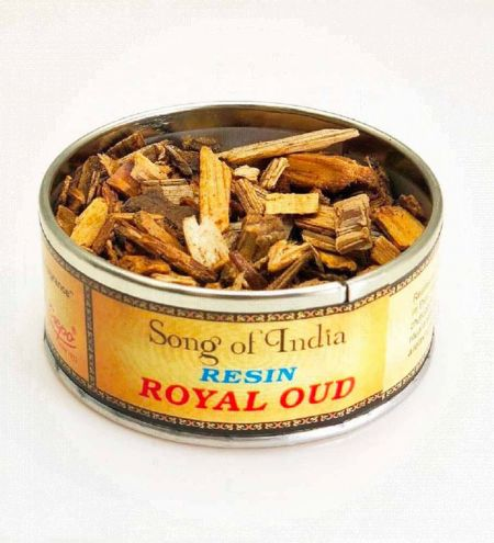 Royal Oud Resin in Tin Jar
