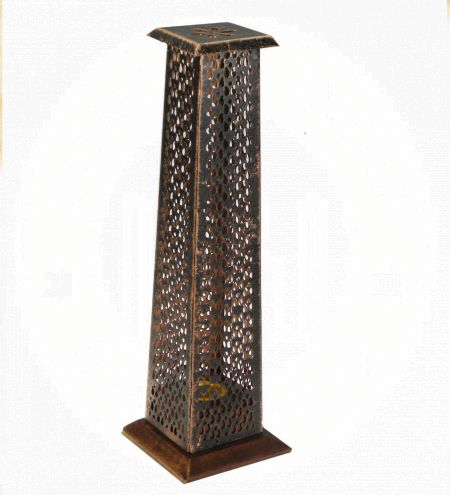 Laser Cut Antique Incense Tower